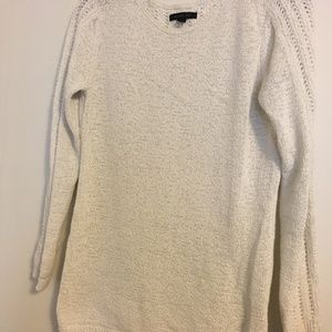 Rachel Zoe White Unusual Sweater